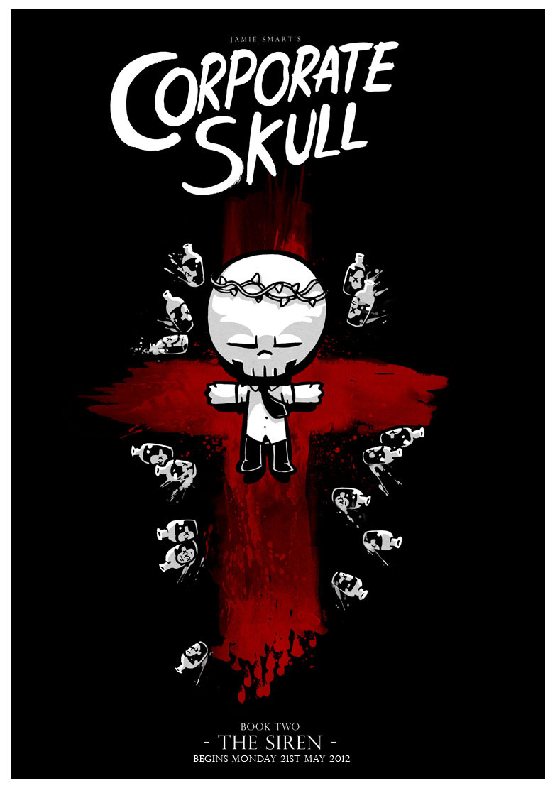 Corporate Skull Book Two Is Coming